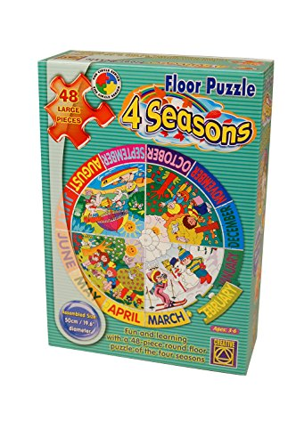 Learning Advantage 1035 Four Seasons Floor Puzzle