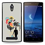 hars camera case - Queen Pattern - FOR Oppo Find 7 X9007 - Collage Art Gentlemen Film Camera - Impact Case Cover with Art Pattern Designs