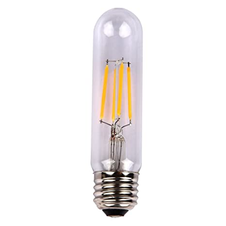 ONEPRE T10 Edison Bombilla LED 4 W, intensidad no regulable, E27 de tornillo tamaño