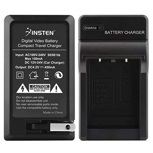 Eforcity Insten Battery Charger Compatible with Casio NP-...