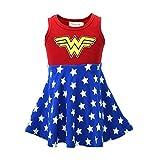 Ruikajia Child's Wonder Woman Tutu Dress Toddler Tutu Halloween Costumes