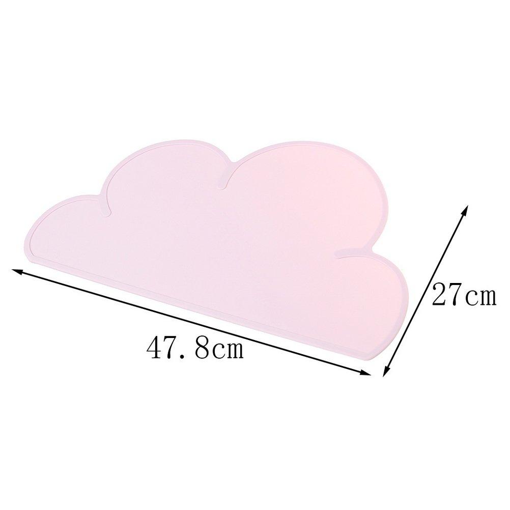Borte Set de table en silicone antid/érapant pour b/éb/é en forme de nuage
