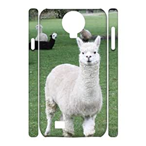 QNMLGB Hard Plastic of Lama Pacos Cover Phone Case For Samsung Galaxy S4 i9500 [Pattern-2]