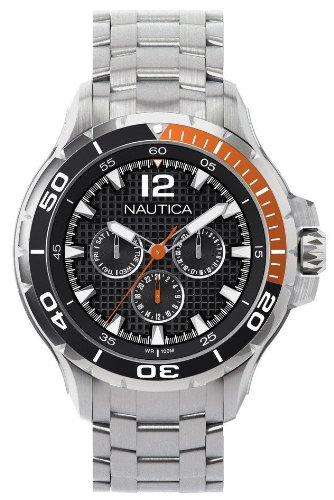 Nautica Men's N22617G NST 02 Classic Analog Watch (Nautica Watch Set)
