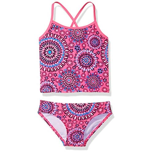 Kanu Surf Girls Melanie Beach Sport 2-pc Banded Tankini Swimsuit