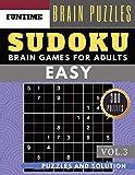 SUDOKU Easy: Huge 300 easy sudoku with answers