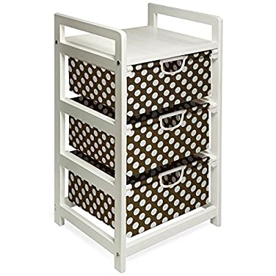 Badger Basket Lightweight Three Drawer Hamper/Storage Unit