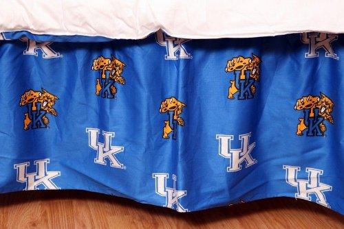 Bedskirt Twin Wildcats (College Covers Kentucky Wildcats Printed Dust Ruffle, Twin)
