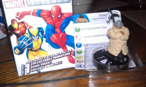 Marvel Heroclix 10th Anniversary Thing #3 counter top