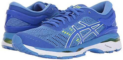 ASICS Womens Gel-Kayano 24 Running Shoe, Purple/Regatta Blue/White, 13 Medium US