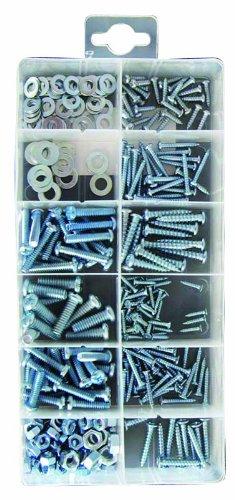 Pearl Automotive PXP115 - Viti metriche, dadi e rondelle, confezione da 350 pezzi