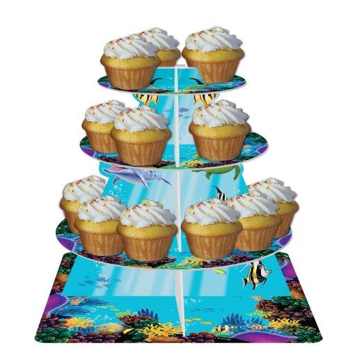 Creative Converting Ocean Tiered Cupcake