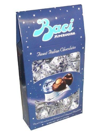 Perugina Baci Chocolate Gift Box (Baci Perugina Italian Chocolate Christmas Holiday Thanksgiving Gift Box 16 Ounces)
