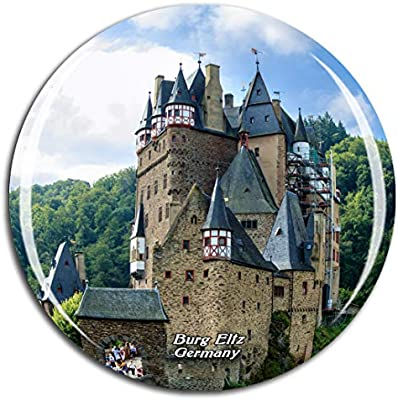 Travel Souvenir Fridge Magnet Germany BURG ELTZ