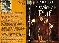Histoire de Piaf par Lange