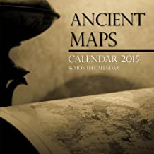 Ancient Maps Calendar 2015: 16 Month Calendar