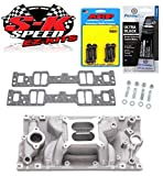 air gap chevy intake - Edelbrock 7516 SB Chevy Vortec Performer RPM Air Gap Intake Manifold w/Bolts/Gaskets/RTV