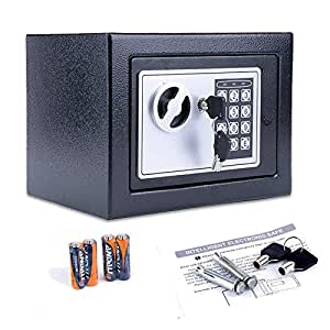 Nakey Digital Electronic Safe Security Box, Small Wall-Anchoring Safe on home security, home red, home heat, home vault, home drive, home shredder, home safety, home sentry bogota, home wanted, home escape plan, home trash,