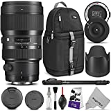 Sigma 50-100mm F1.8 Art DC HSM Lens for Canon DSLR Cameras w/Sigma USB Dock & Advanced Photo and Travel Bundle