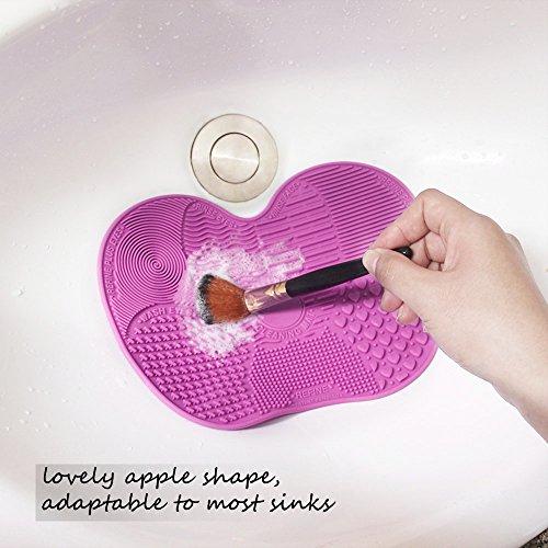 Makeup Brush Cleaning Mat Esarora Makeup Brush Cleaner