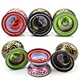 BEESCLOVER Aluminum Alloy YoYo Ball Bearing String Kids Children Professional Playing Toy Perfect Boy Birthday Gift Show One Size