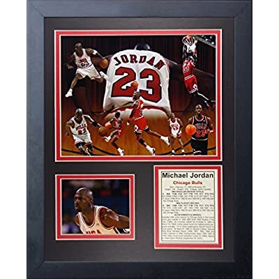 "Legends Never Die ""Michael Jordan II"" Framed Photo Collage, 11 x 14-Inch by Legends Never Die"