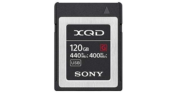 Amazon.com: Sony XQD - Tarjeta de memoria de 120 GB QD (g120 ...