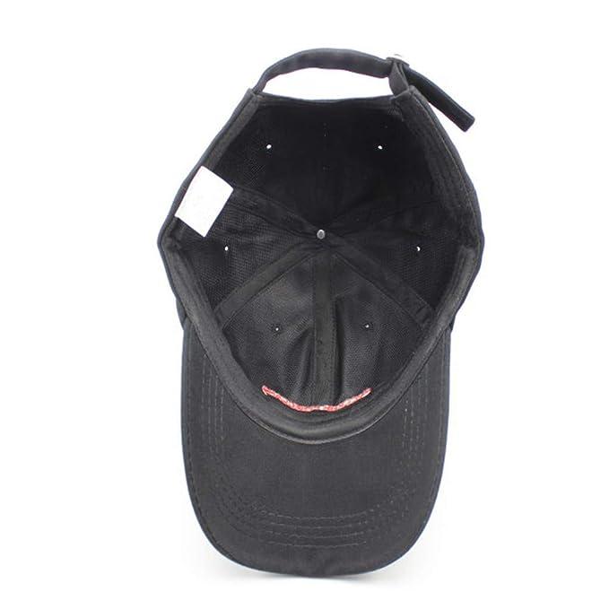 Dorical Hombre Mujer Unisex Gorra De Béisbol Verano Moda Sencilla Sombrero Bordado Ajustable Hip Hop Sombreros Al Aire Libre Casual Visor Cap: Amazon.es: ...