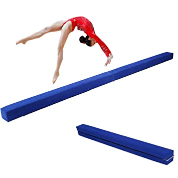 Greensen Barra de equilibrio plegable para gimnasia, entrenamiento y equilibrio para niños o adultos