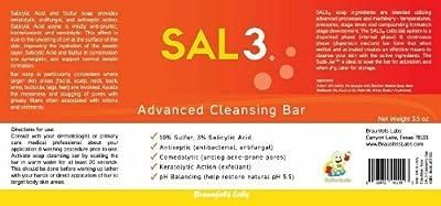 SAL3 Cleansing Bar - 3% Salicylic Acid, 10% Sulfur