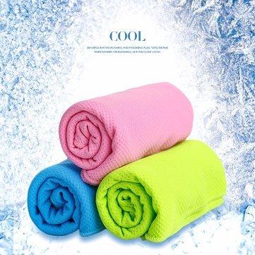 30 x 90 cm Verano helado toallas deporte al aire libre mágica microfibra toalla de enfriamiento..: Amazon.es: Hogar