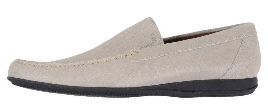 HANDMADE ITALY Stone Calf Walking Loafer (Size 10 US)
