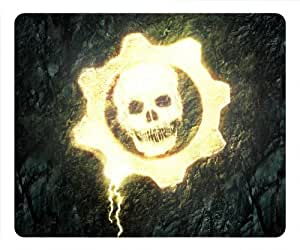 Customizablestyle Gears of War Skull Mousepad, Customized Rectangle DIY Mouse Pad