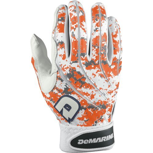 DeMarini Digital Camoflague Batting Glove, Orange, Large