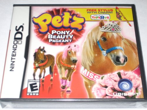 Exclusive Nintendo DS Petz Pony Beauty Pageant with Limited Edition Stylus and Charm(Toys R Us)