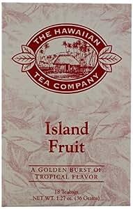 Hawaiian Tea Co, Island Fruit, 18-Count