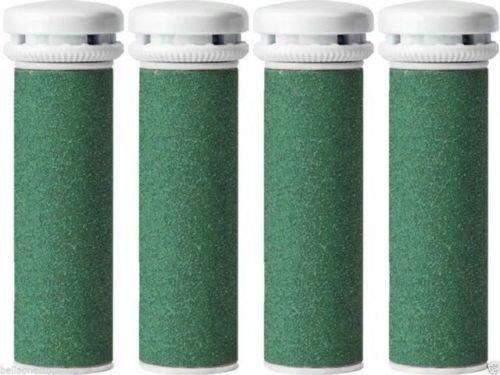 CSL - 4 rulli di ricambio a grana grossa compatibili con il kit per pedicure Emjoi Micro Pedi