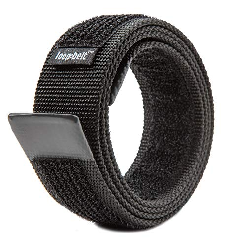 Loopbelt XL 46-50 No Scratch Reversible Web Belt with Advanced Hook & Loop Fasteners (Scratch Proof Belt)