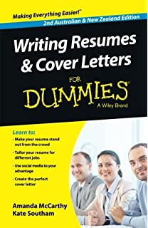 Good Writing Resumes And Cover Letters For Dummies   Australia / NZ In Resumes For Dummies