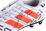Lionel Messi Barcelona Autographed White & Red