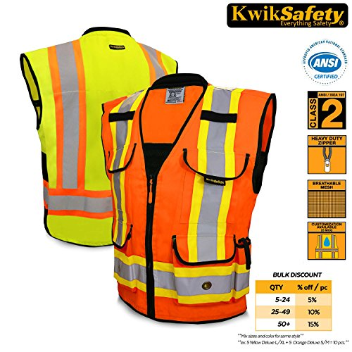 2 Two Tone Safety Vest - 1