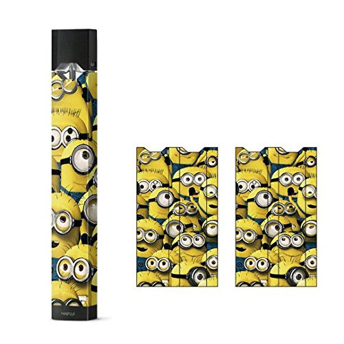 JaySkins Minion Despicable Me Pattern Juul Skin Decal Sticker Wrap  Protective Case for JUUL