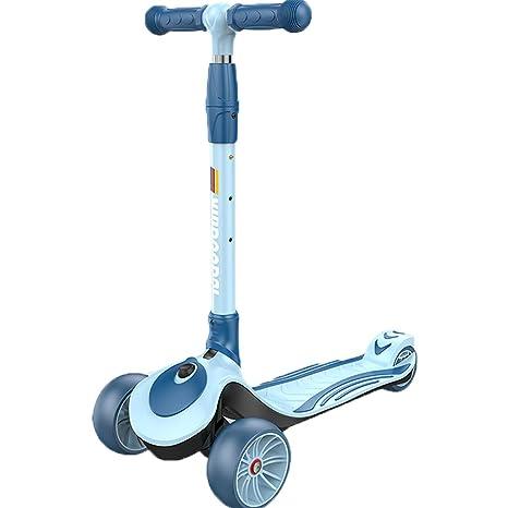 Scooter de 3 Ruedas, Patinete Plegable Ligero de Aluminio ...
