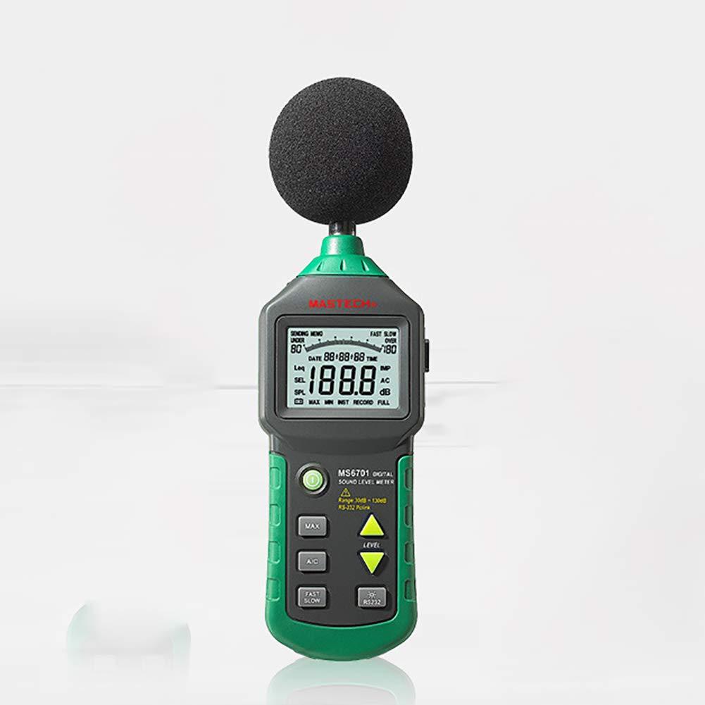 Aceyyk Digital Sound Level Meter,3 in 1 Multi-Function Digital Sound Level Noise Meter Tester Humidity Meter Thermometer 30-130dB Digital Decibel Meter LCD Backlight