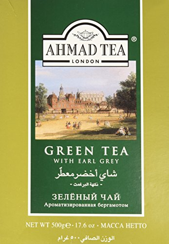 Ahmad Green Tea with Earl Grey