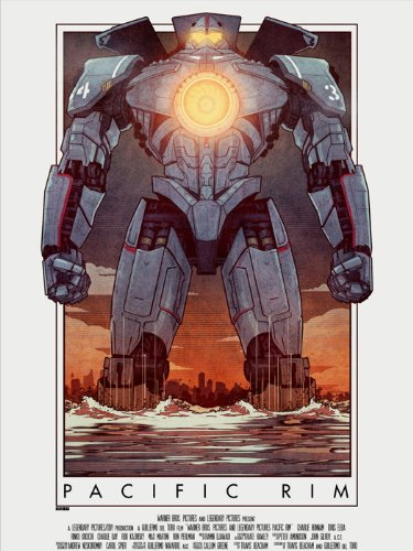 SV1080 Pacific Rim Jaeger Vintage Painting Cool Art for sale  Delivered anywhere in USA