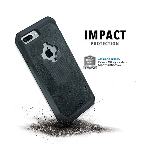 Rokform 303201 V3 Sport Schutzhülle für Apple iPhone 7 Plus 13,9 cm (5,5 Zoll) mit Magnetic Auto-Halterung schwarz