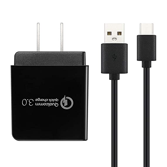 059a57af763d51 Amazon.com: Quick Charge 3.0 18W and Type C Cable Charger for Nexus ...