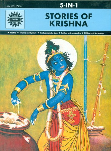 Krishna: The Protector of Dharma (Amar Chitra Katha) 5 in 1
