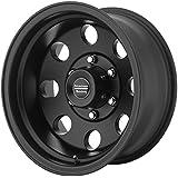 "American Racing Custom Wheels AR172 Baja Satin Black Wheel (15x8""/5x127mm, -19mm offset)"